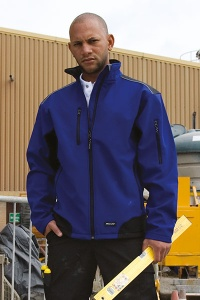 Herenjas Result Ripstop Soft Shell Work Jacket